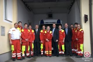ÖVP-Besuch ASB Alkoven